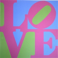 garden of love by robert indiana