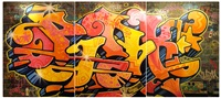 pink in 1980's graffiti world by lady pink