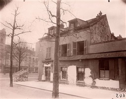vielle maison, 108 avenue de suffren, march 1926 by eugène atget