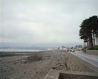 army stop and search, warrenpoint, 1986, from the series troubled land by paul graham