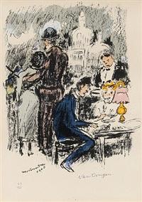 montmartre 1900 by kees van dongen