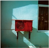 red air conditioner by charles johnstone