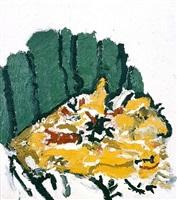 wrought iron cactus by don van vliet