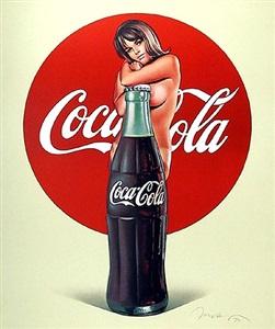 coca cola by mel ramos