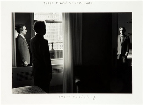 three views of truffaut by duane michals