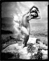 wind fire - marie-theresa duncan on the acropolis by edward steichen