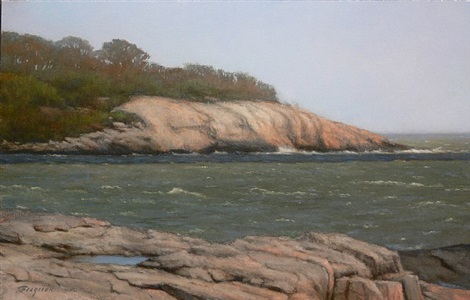 early spring, tuxis island (sold) by peter bergeron