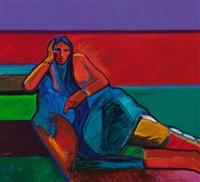 arapaho squaw, 1986 by john nieto