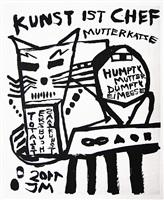mutter der diktatur der kunst: strammstehn' und totalstgehorsam! by jonathan meese