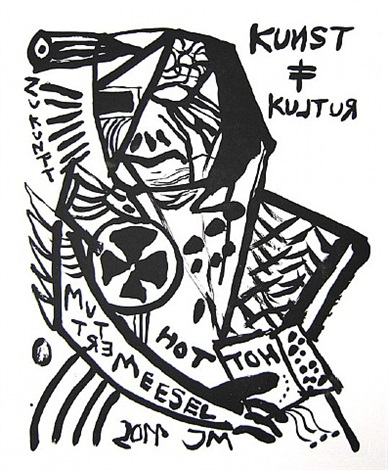 mutter der disziplin: angetreten! by jonathan meese