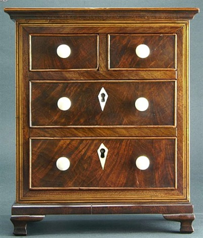 salesman's sample chest of drawers