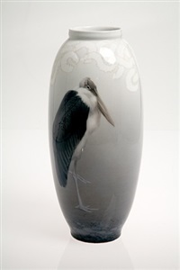 marabou stork by royal copenhagen