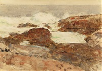 isles of shoals by childe hassam