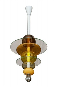 venini ceiling light by ettore sottsass