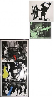 helmsman (with various fires) by john baldessari