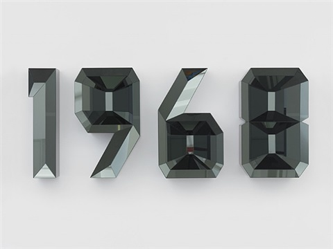 1968 (black) by doug aitken