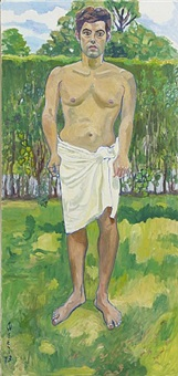 richard by alice neel