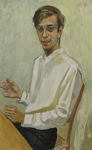 alice neel men only by alice neel