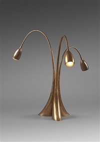 lampe tripode by philippe hiquily