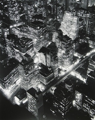 nightview, new york by berenice abbott