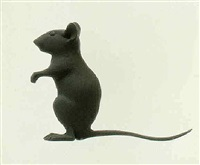 maus (mouse) by katharina fritsch