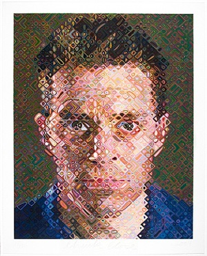 james by chuck close