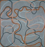 epitaph painting 5 by brice marden