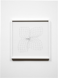 bullet drawing i by cornelia parker