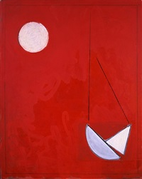 moon and boat (pendulum) by paul resika