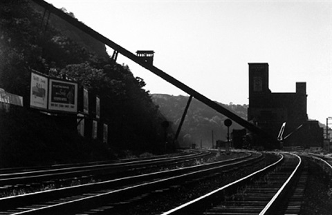 pittsburgh (railroad tracks) by w. eugene smith