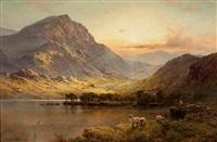 in north wales by alfred de breanski sr