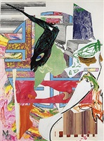 the quarter deck by frank stella