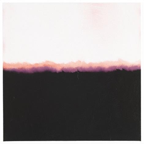 film edge (purple horizon) by isca greenfield-sanders