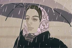 gray umbrella by alex katz