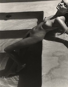tully in water, los angeles by herb ritts