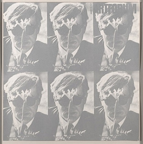 andy warhol-art forum 1964 (silver) by dennis hopper