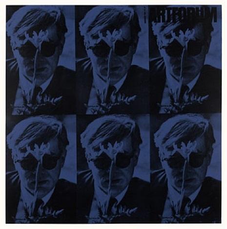 art forum 1964 (blue) by dennis hopper