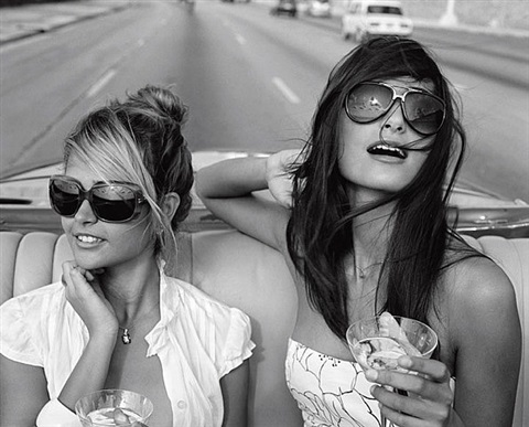 gisele and rachel by michael dweck