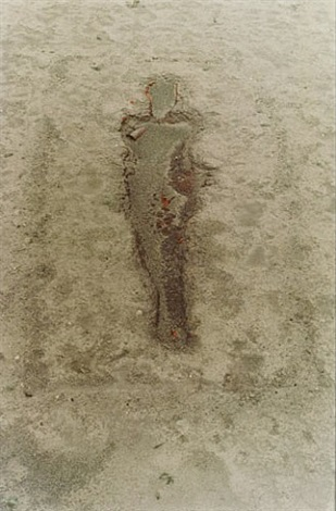 untitled (silueta series) by ana mendieta