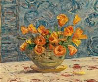 vase de fleurs by maxime maufra