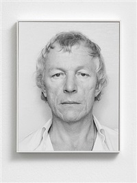 opalka 1965 / 1 - !<br>détail - photographie 2638659<br>autoportraits by roman opalka