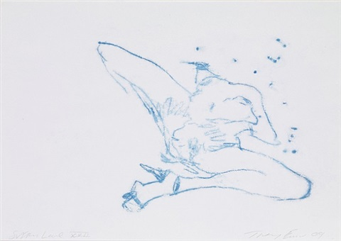 suffer love xvii by tracey emin
