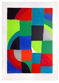 grande composition by sonia delaunay-terk