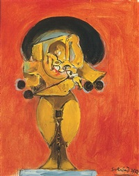 standing rock form by graham sutherland