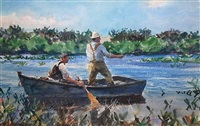 fishing in the everglades by john whorf