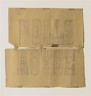 rolls royce by franz erhard walther