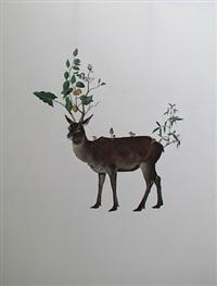 marlboro deer by ji dachun