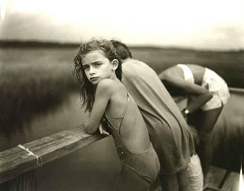 jessie in the wind by sally mann