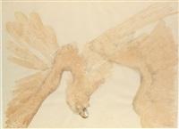 fallen eagle by elisabeth frink