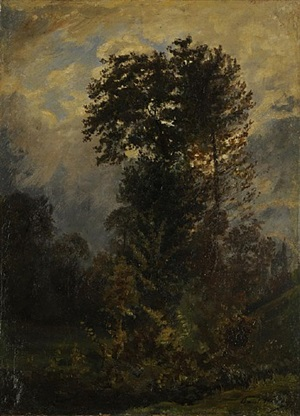 paysage by paul huet